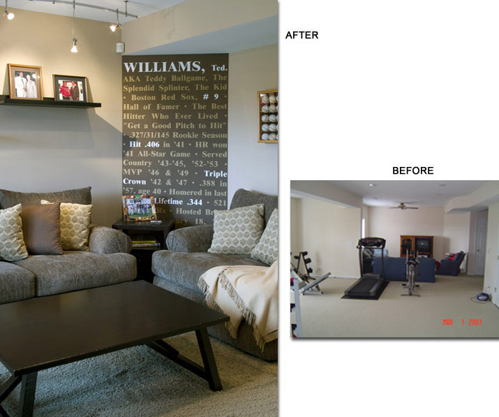 Photos Featured Basement Remodel: Remodeling Kansas City, Basement, Kitchen